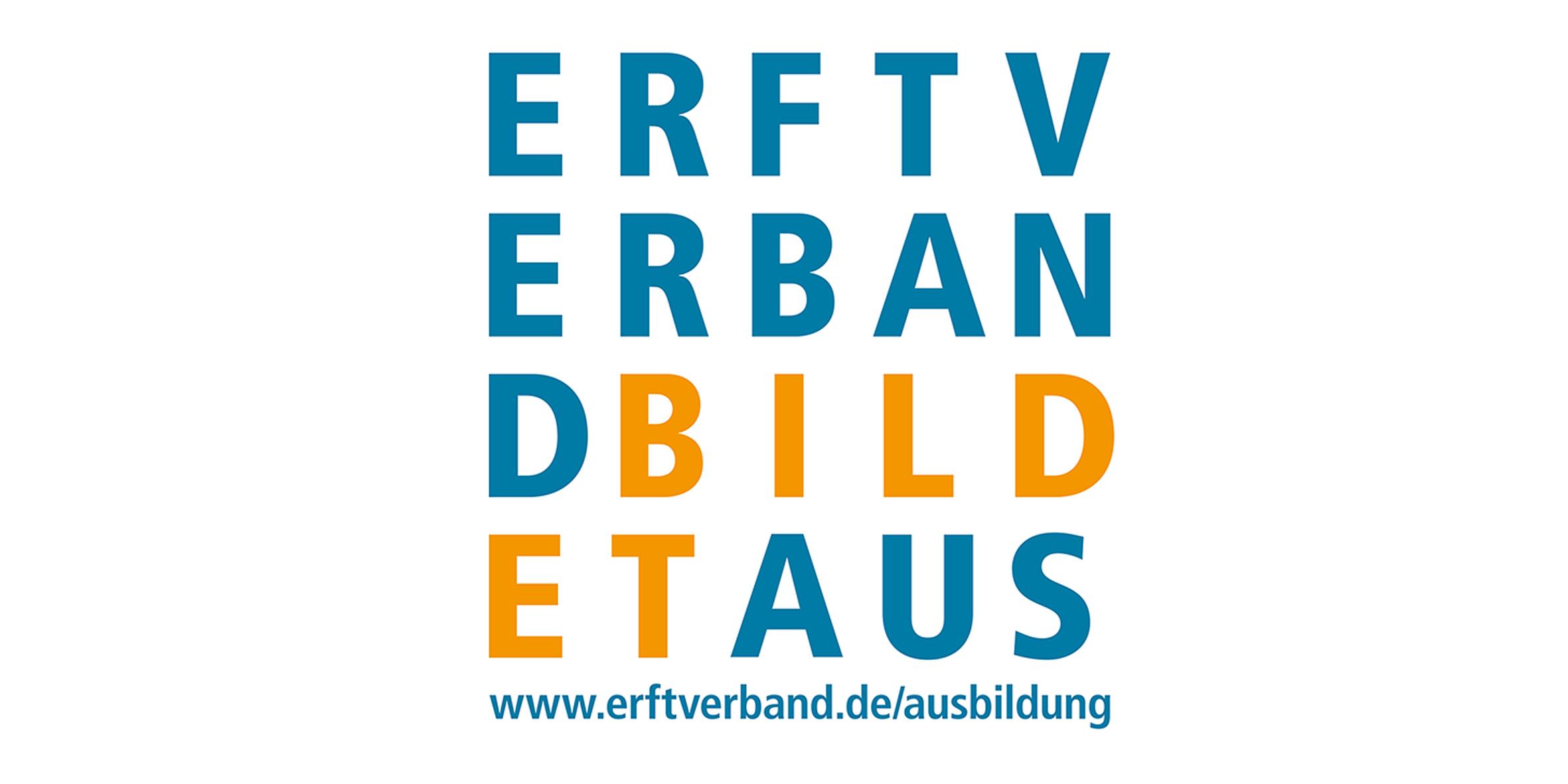 Logo Ausbildung beim Erftverband