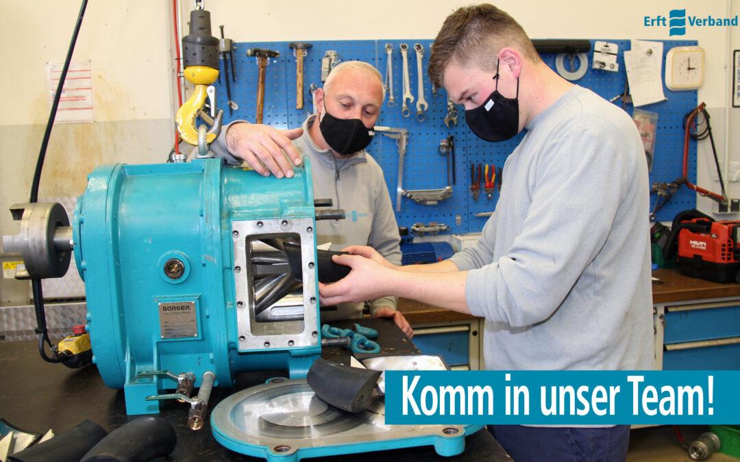 Stellenausschreibung Industriemechaniker*in im überörtlichen Betrieb (w/m/d)
